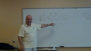 Jack Lauder at music theory class