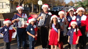 MECCA accordion band in Christmas parade