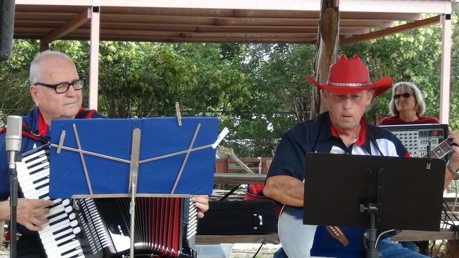 MECCA perfomers at Ft. Croghan Day, Burnett, Texas
