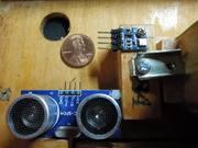 button accordion w ultrasound and barometric sensor