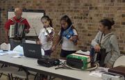 Teaching MIDI music at STEM summer class