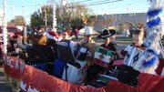 MECATX musicians in Killeen, Texas Christmas parade
