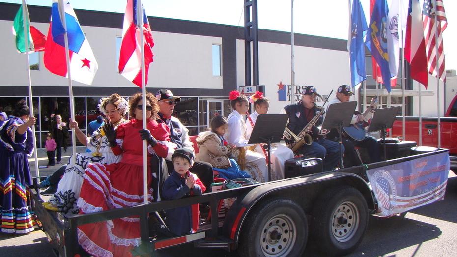 MECATX in Veterans Day Parade 2014 in Killeen, Texas