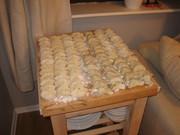 Main course: dumplings