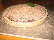 Dessert: Chocolate tart