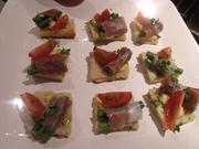Tuscan Sharing Supper Club: Crostini Di Prosciutto E Pomodori