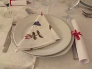 Tuscan Sharing Supper Club: Place Setting