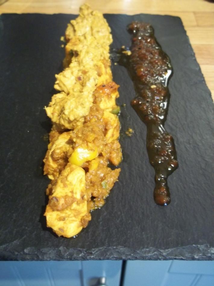 Spectrum of heat with chilli jam