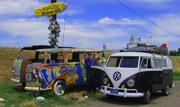 VW Bus Camping 2009