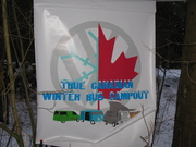 True Canadian Winter Bus Campout