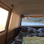 Inside the little van that could