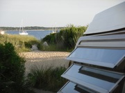 Carole's YesWeCan CamperVan on Cape Cod, MA, summer 2011