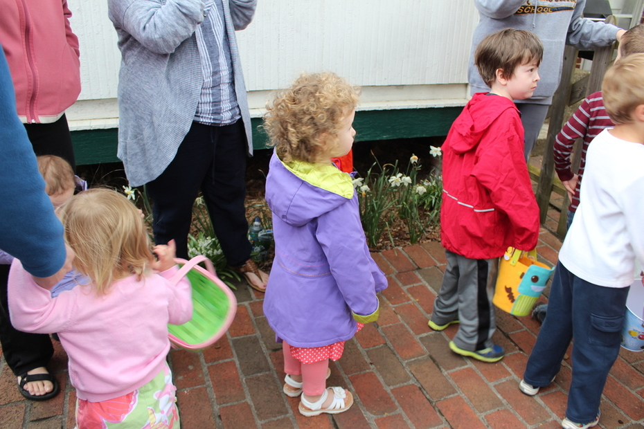 Easter - Lining Up