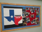 Troop 1836 display