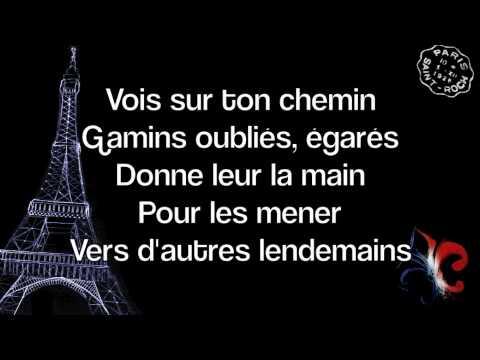 Les Choristes Medley (lyrics)