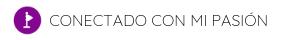 CONECTADO CON MI PASIÓN Logo