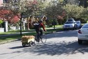 Straw Bale Bike