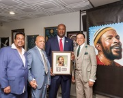 Marvin Gaye's Stamp Given to Public On his 80 th Birthday 4-2-2019