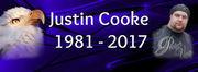 Justin Cooke 1981 - 2017 RIP