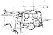 Tiptree fire engine