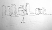 West Bay skyline, Doha