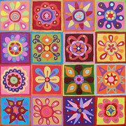 Floral Abstract Paintings