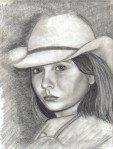 Cowgirl Rebecca age 13