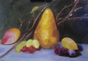 Warm Pear Work in Progress