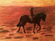 rider at dusk 2