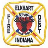 Firefighters from Elkhart,county Indiana