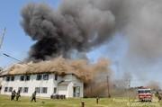 Lower Bucks firefighters