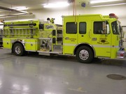Those who drive and love lime green firetrucks!!!!