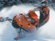 Snowmobiling Firefighters