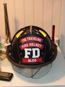 The Traveling Fire Helmet