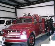 Antique Studebaker Fire Apparatus