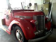 Diamond T fire truck