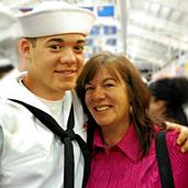 Mis hijos en el Navy