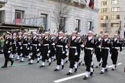 USN Ceremonial Guard - Families
