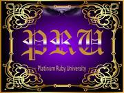 Platinum Ruby University Classroom