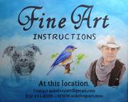 Fine Art Class poster