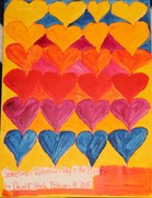 Acrylic Painting 63 - 'Sometimes Valentine's Day is the End', D.R.Steele, 2-14-2015 001 (2)