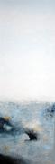0012A-Ottawa Rapids acrylic textured abstract 12x36 gallery canvas 2014 OAA