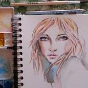 Dream in watercolors