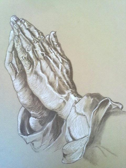 Durer's hands