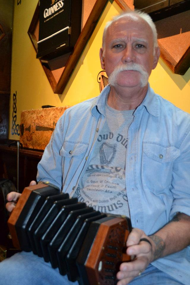 The new lad on the Morse C/G Concertina!!!