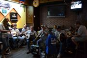 The Black Sheep Ceil Band playin for Trad for Trocair !!! ($500. Collected from our playing ) tis not too shabby !!......