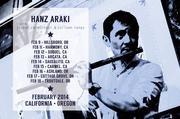 Hanz Araki California Tour