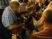 Nyckelharpa & Uilleann Pipes in Tom's, Ballycastle!