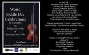 World Fiddle Day Scartaglin Exhibition on Fri May 18