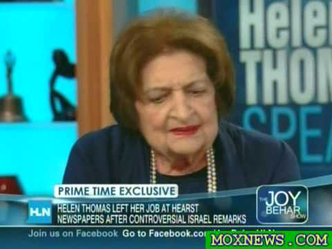 """Do You Consider Yourself Anti-Semitic?"" A: ""HELL NO!"" Helen Thomas Never Backs Down For ONE Second"